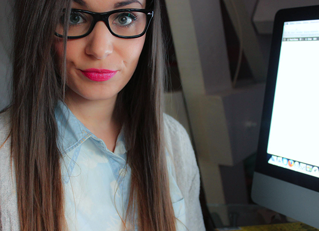 Le maquillage des yeux quand on porte des lunettes