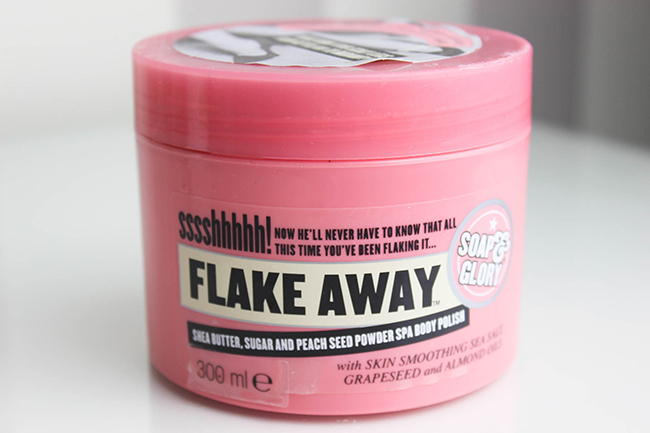 soap and glory flake away how to use