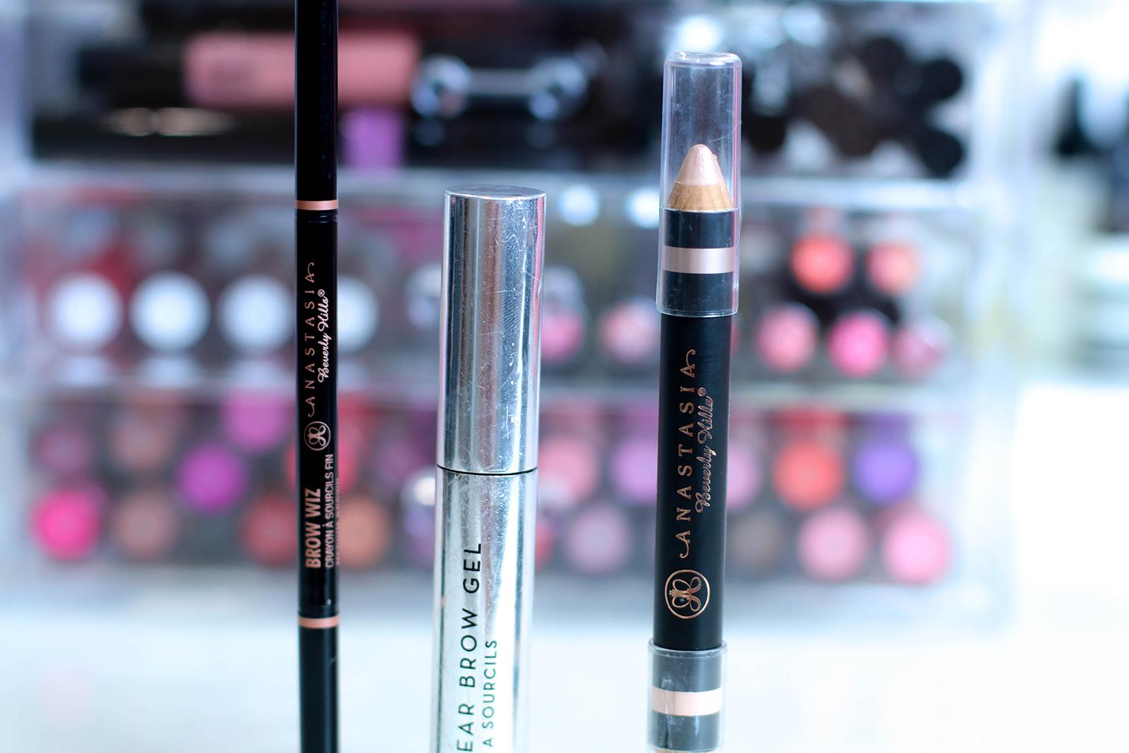 Produits Anastasia Beverly Hills : lesquels j'utilise pour mes sourcils ?