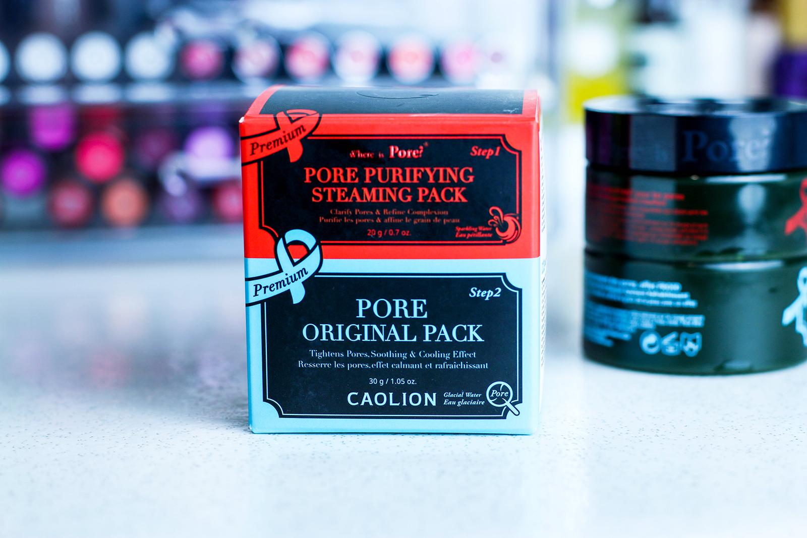 Masque chaud/froid Caolion : la solution miracle pour les pores dilatés ?